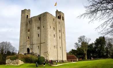 Castle Hedingham in Essex.  Photo by Gordon Scammell